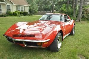 1972 chevrolet corvette stingray 4 speed a c