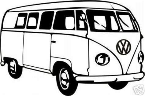 volkswagen hippie van clipart vw cer download illustration