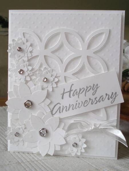 Wedding Anniversary Card To Make by 25 Best Ideas About Anniversary Cards On