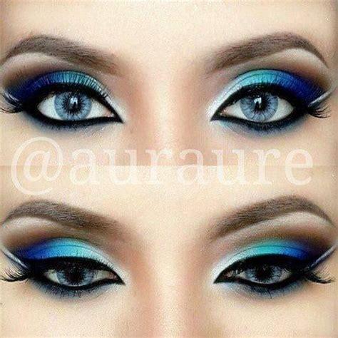 Eyeshadow Blue 12 chic blue eye makeup looks and tutorials pretty designs