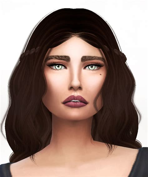 The Model Eyebrow 4 by Eyebrows At S4 Models 187 Sims 4 Updates