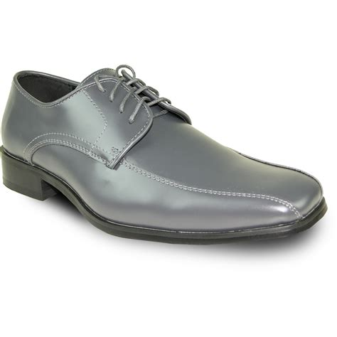 gray dress shoes vangelo s tux 5 oxford iron gray wide width avail