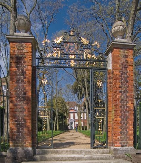 fenton house quot gateway at fenton house hstead quot by john ware at picturesofengland com