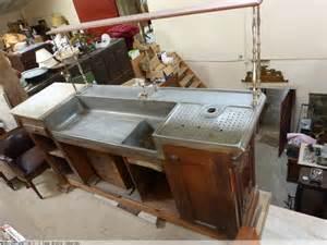 comptoir bar ancien zinc