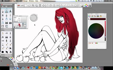 sketchbook pro coloring tutorial basics of sketchbook pro tutorial