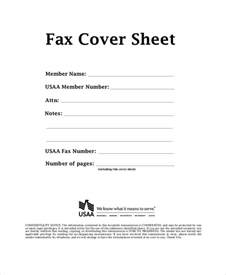 printable fax cover sheet sle 9 exles in pdf word