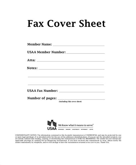 printable fax cover sheet printable standard fax cover sheet 10 fax cover sheet pdf