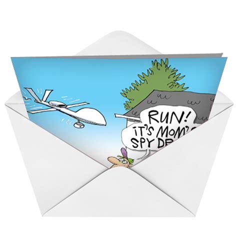 Drone Birthday Card