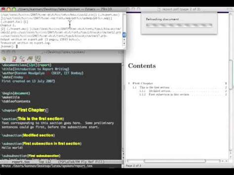 latex tutorial title latex tutorial 1 of 11 starting a report and title page