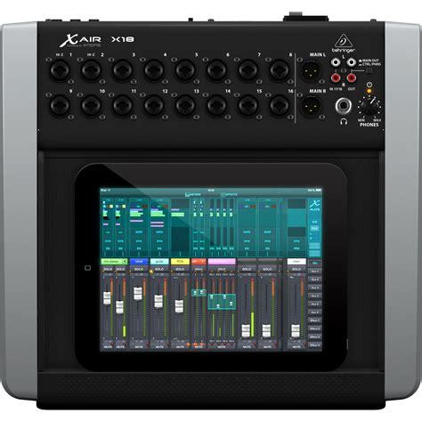 Mixer X Air behringer x18 x air digital tablet mixer at gear4music