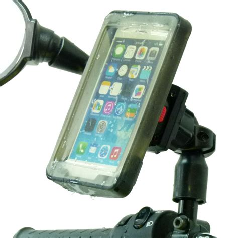Bike Phone Holder By Paceshop22 phone holder scooter moped bike mirror mount cover