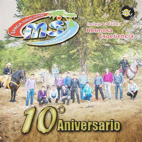 banda ms 10 aniversario 2013 cd completo banda ms 10 aniversario cd album 2013
