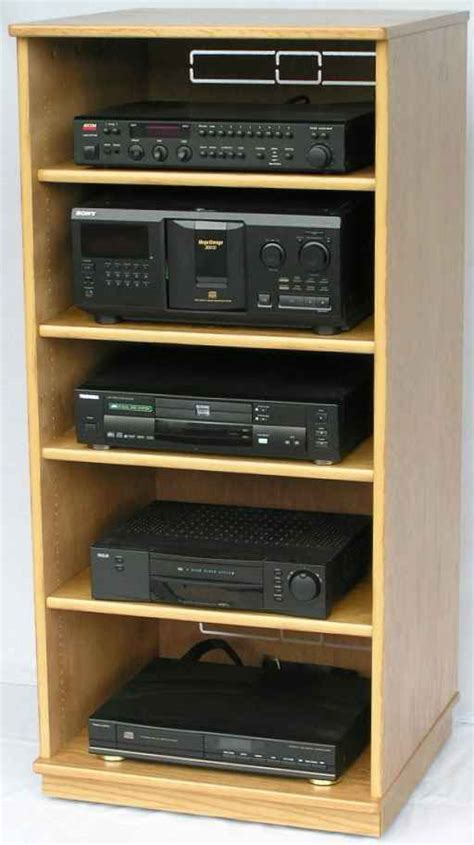 What Is Av Rack For Cooking by Wood Working Projects Audio Rack Woodworking Plans