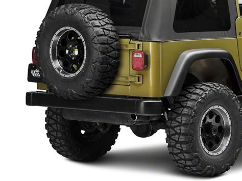 rugged ridge tire carrier rugged ridge wrangler tire carrier heavy duty textured black 11585 01 87 06 wrangler yj tj