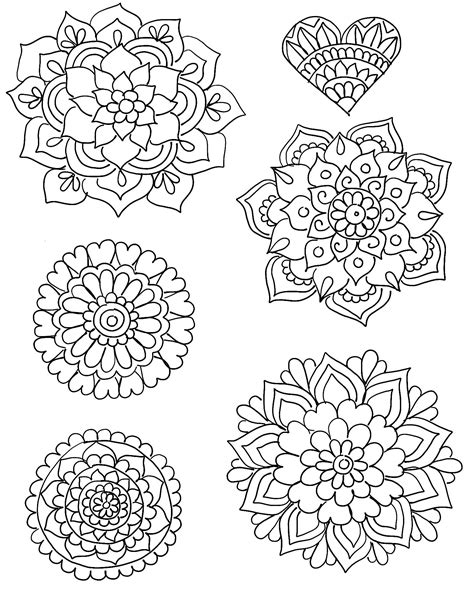 shrinky dink printable templates diy shrinky dink charms shrinky dinks mandala and template
