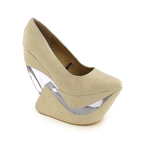 Wedges Ivone shiekh yvonne heel less wedge platform shoes