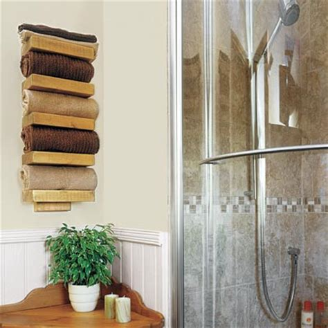 23 make a rustic towel rack 28 ways to refresh your