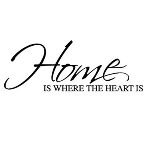 home is where the heart is home is where the heart is wall sticker wall quotes wall