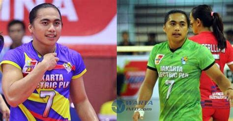 Celana Voli Ketat pemain voli putri indonesia aprilia manganang diminta tes wartainfo