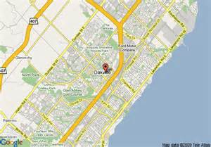 map of garden inn toronto oakville oakville