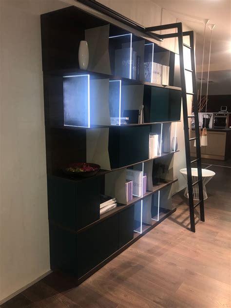 libreria per soggiorno libreria per soggiorno di novamobili in sconto