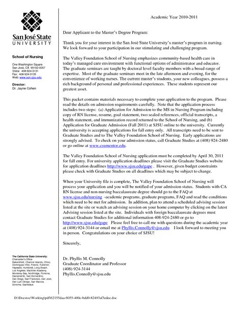 Recommendation Letter Nursing Graduate School Nursing School Letter Of Recommendation Free Resumes Tips