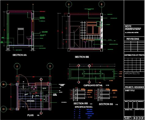 kitchen drawings autocad kitchen ideas
