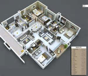 average bedroom size square 3050 sq ft 4 bhk 5t apartment for sale in annapurna