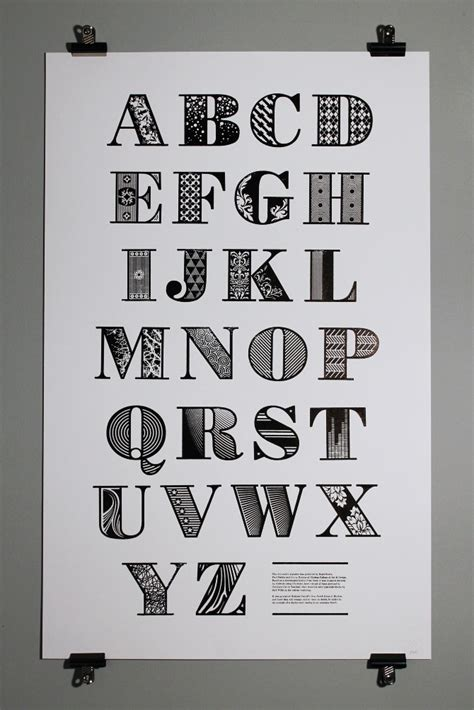 design poster fonts look at this lovely laser cut letterpress type prints
