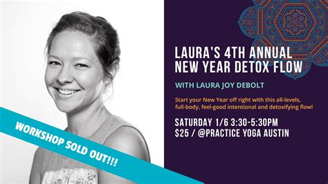 New Year Detox by S 4th Annual New Year Detox Flow Practice