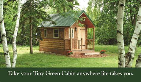 cabin designs tiny green cabins