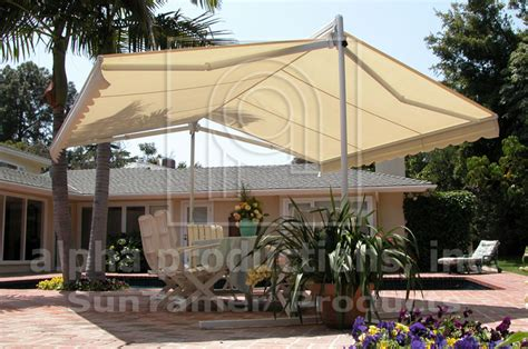 freestanding awnings awnbrella freestanding awning alpha productions