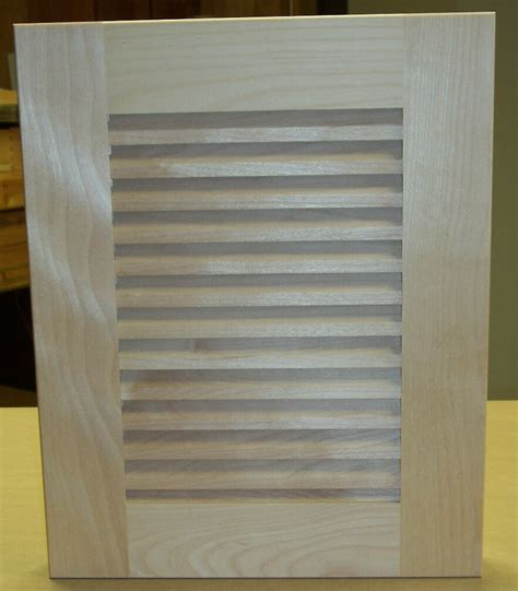 Unfinished Louvered Cabinet Doors Custom Unfinished Louver Cabinet Doors Unfinished Louver Cabinet Doors Unf Lvr Series