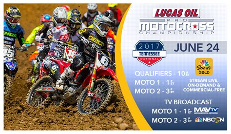 pro motocross live stream lucas oil pro motocross how to watch tennessee