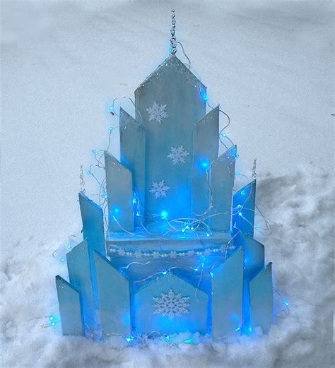 Thanksgiving Decorations For The Home by Diy Elsa S Ice Castle From Disney Frozen Gina Tepper