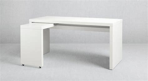 ikea scrivania malm hai poco spazio scegli la console cose di casa