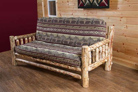 rustic futon rustic futon