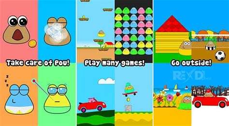game pou mod apk for android download games dan software pou 1 4 74 apk mod for android