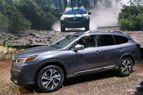 2020 Subaru Outback Unveiling by Sleek New Suvs Dominate Reveals At New York Auto Show