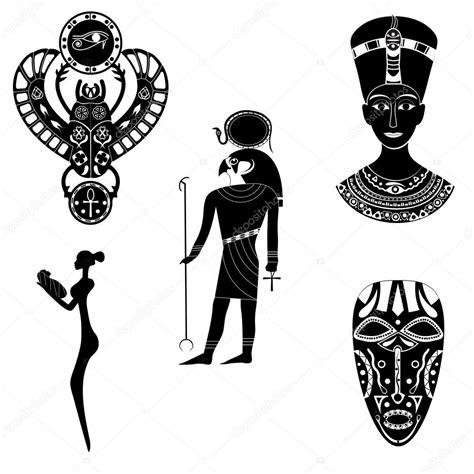imagenes blanco y negro de dios negro blanco siluetas del antiguo dios del ra egipcio