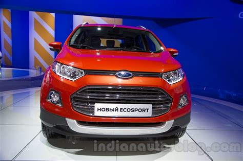 Ford Ecosport 2014 At by Ford Ecosport At The 2014 Moscow Motor Show