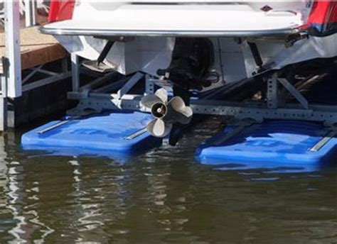 shallow water boat lift hydrohoist floating boat lifts and pwc lifts