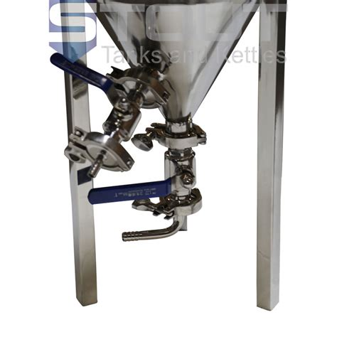 Klem Selang Hose Cl 2 34 Stainless Steel Taiwan 7 3 gallon conical fermenter with thermowell and stainless steel cooling coil