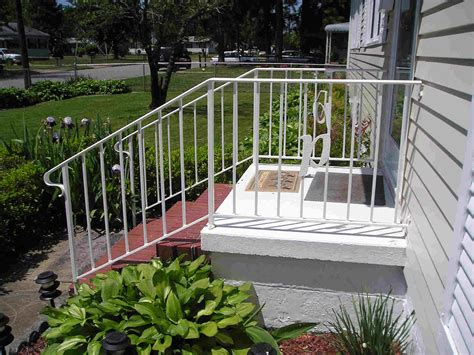 vinyl stair railing kits image of outdoor wrought iron