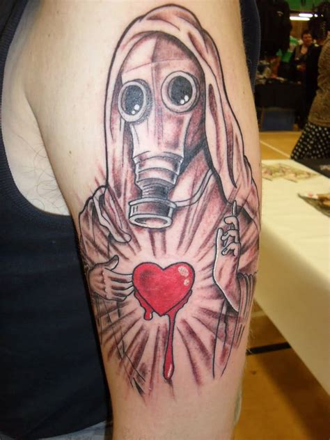 tattoo nightmares gas mask 44 best gas mask tattoos collection