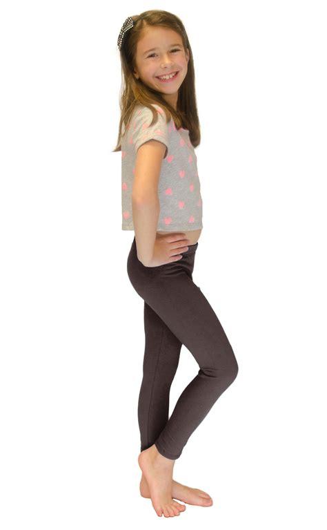 preteen leggings vivian s fashions long leggings girls cotton ebay
