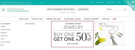 Where Can I Buy Christopher And Banks Gift Cards - christopher banks coupons promo codes 50 off