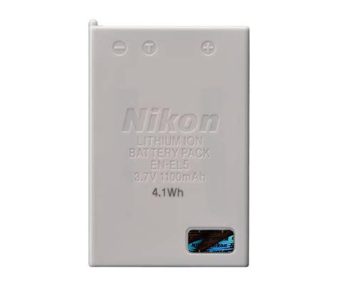 Battery Nikon En El5 By Invicom en el5 rechargeable li ion battery from nikon