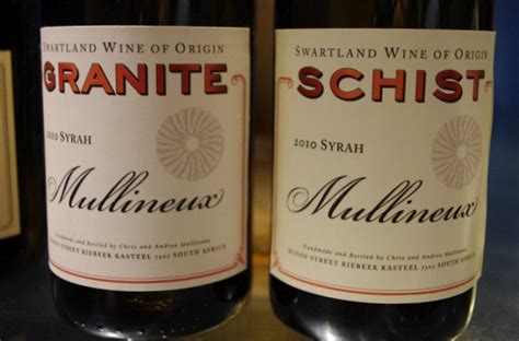 Which Came Granite Or Schist - mullineux one of south africa s most exciting wine