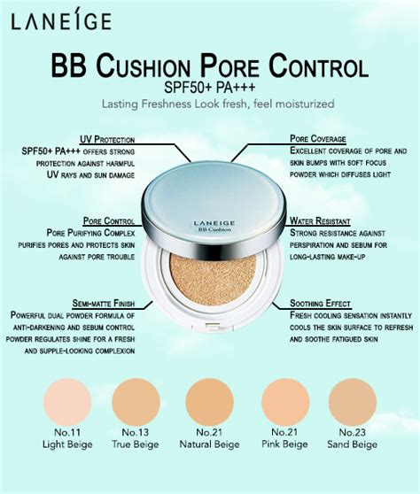 Refill Laneige Bb Cushion jual laneige bb cushion pore spf 50 pa no